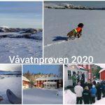 Våvatnprøven 2020 AVLYST!