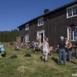 Slåttedag i Bjørndalen
